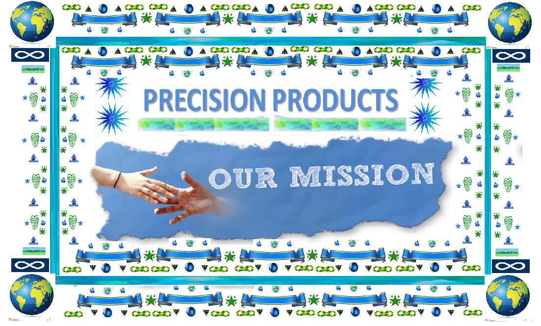 Precision Products - Our Mission - SATO (special artwork to organize) ALLIANCE - CUSTOM BANNER ART MADE BY TRUNG NGUYEN AND MANY OTHERS
