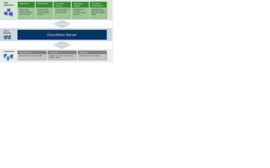 DocuWare Server Details