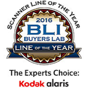 Kodak Alaris - BLI 2016 Scanner Line Of The Year