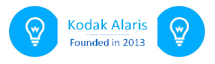Kodak Alaris - Founded in 2013 (Custom Image)